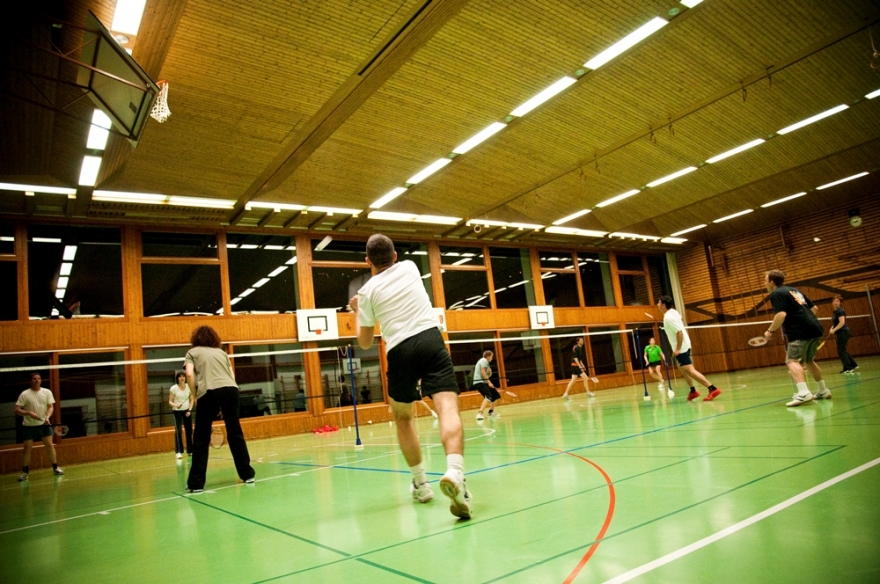 Badminton/Copyright Aline Fournier